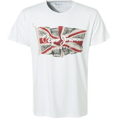 Pepe Jeans T-Shirt Flag Logo PM505671/802 von Pepe Jeans