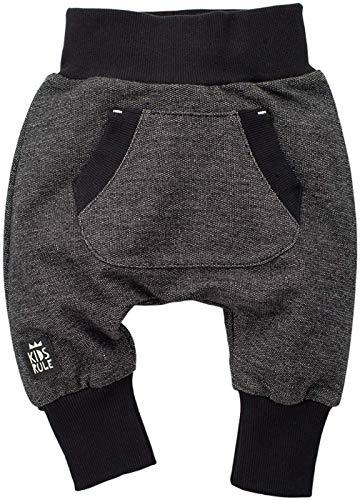 Grau oder Schwarz Wei/ß gestreift Jogginghose Happy Day Baby Hose 100/% Baumwolle Pinokio Leggins Schlafhose elastischer Bund mit F/ü/ßchen Unisex Stramplerhose