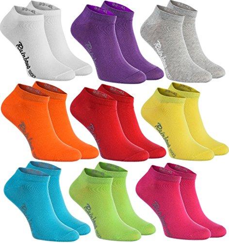 Damen Freizeitschuhe Schuhe luxus Multicolor Sneakers 5080 Wei? 37