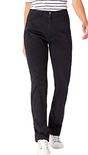 Raphaela by Brax Damen Straight Jeans 10-6220 Corry Fame (Comfort Plus), Schwarz (Black 2), 42K von Raphaela by Brax