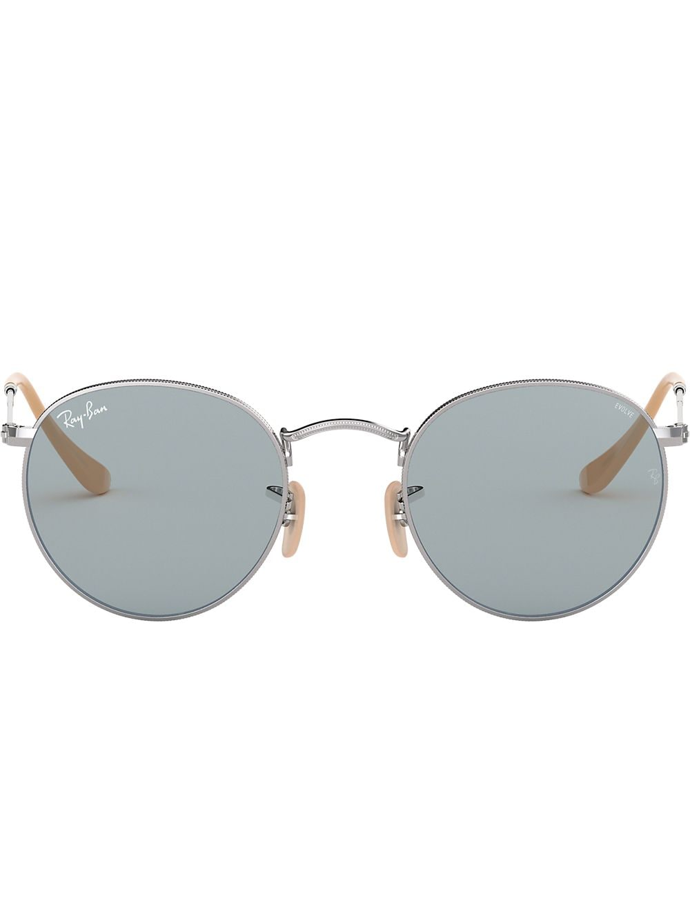 3a5584eb10d Ray-Ban  Round Metal Classic  Sonnenbrille - Silber von Ray-Ban