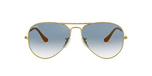 rayban pilotenbrille blau
