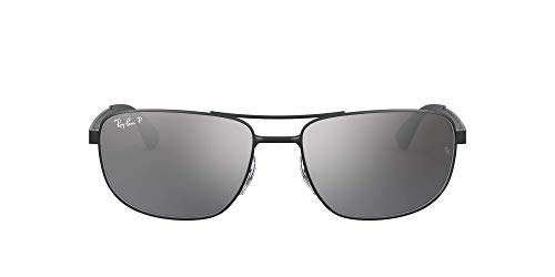 RAY BAN RAY-BAN Herren Brille »The General RX6389«, silberfarben, 2970 - silber