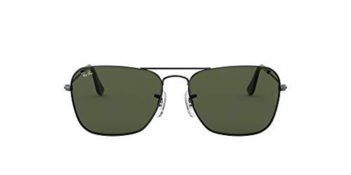Ray-Ban Unisex Sonnenbrille RB8301, Gr. Large (Herstellergröße: 59), Grau (Gestell: Gunmetal/Grau, Gläser: polarized Silber Verspiegelt 004/K6)