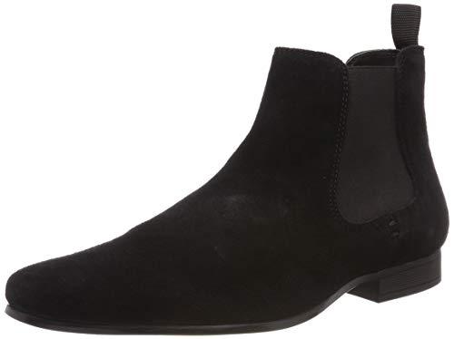 Red Tape Herren Stanway Chelsea Boots, Schwarz (Black 0), 43 EU