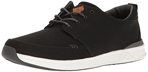 Reef Herren Rover Low Black/White Sneaker, Mehrfarbig (Black/White Blw), 42 EU von Reef