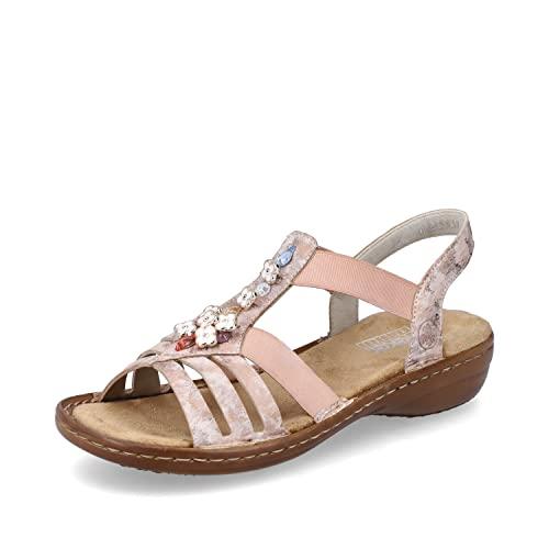 Sandalen von Rieker in Rosa für Damen 5qJvT