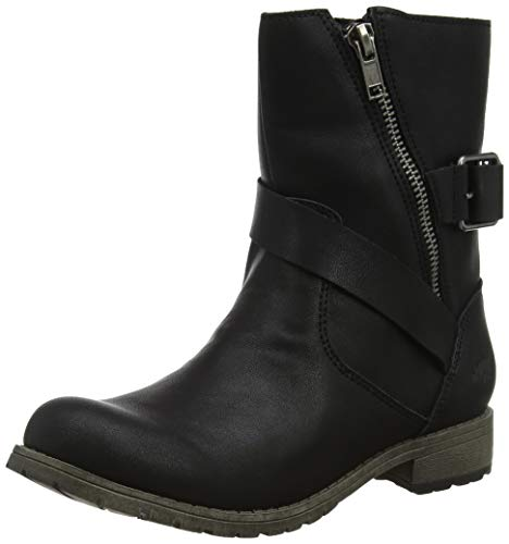 Rocket Dog Damen Blume Biker Boots, Schwarz (Black Lewis A00), 36 EU von Rocket Dog