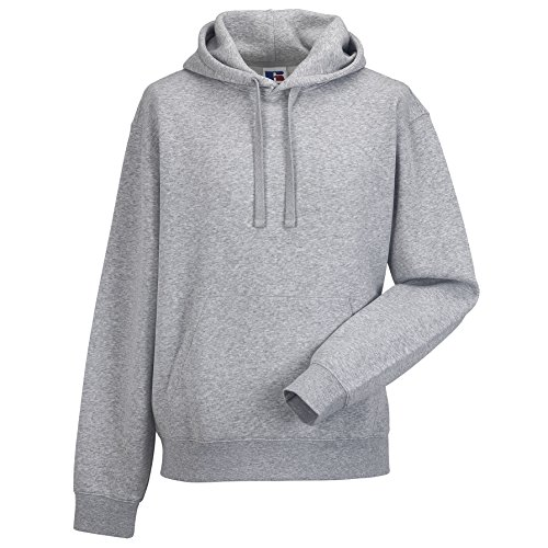 Russell Authentic Kapuzenpullover / Kapuzensweater / Hoodie (L) (Grau) von Russell