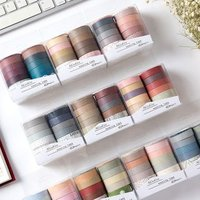 Set: Plain Color Masking Tape von SASHI