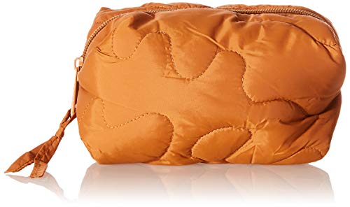 SELECTED FEMME Damen SLFTOMINE QUILTED MAKEUP BAG B Schminktasche, Sudan Brown, ONE SIZE von SELECTED FEMME