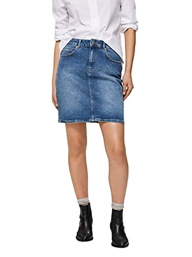 SELECTED FEMME Female Minirock Denim 36Medium Blue Denim von SELECTED FEMME