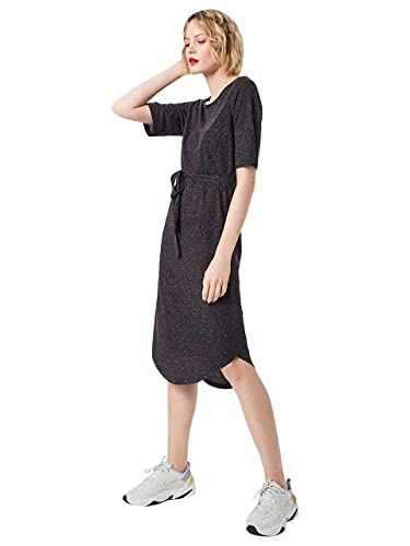 Selected Femme NOS Damen Sfivy 2/4 Beach Dress Kleid, Schwarz (Black), 36 (Herstellergröße: S) von SELECTED FEMME