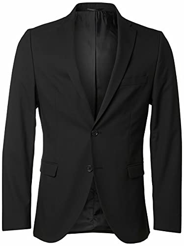 Selected New One Mylo Logan Blazer Herren, 58 / XXXL, Schwarz von SELECTED FEMME