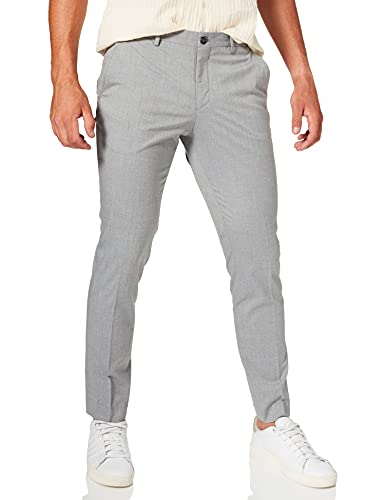 SELECTED HOMME Herren SHDNEWONE-MYLOLOGAN1 Light Grey TRS NOOS Anzughose, Grau Melange, 48 von SELECTED HOMME