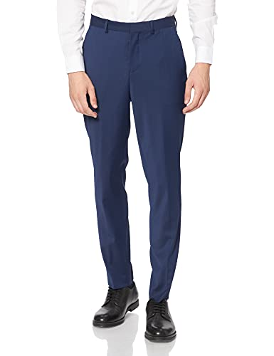 SELECTED HOMME Herren Anzughose Slhslim-Mylobill Blue TRS B Noos, Blau (Blue Depths Blue Depths), W36(Herstellergröße: 102) von SELECTED HOMME