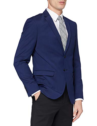 SELECTED HOMME Herren Blazer Slhslim-Mylobill Blue BLZ B Noos, Blau (Blue Depths Blue Depths), 102 von SELECTED HOMME