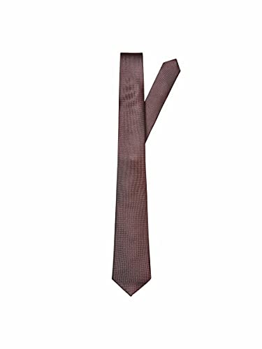 SELECTED HOMME male Krawatte Seiden ONE SIZERum Raisin von SELECTED HOMME