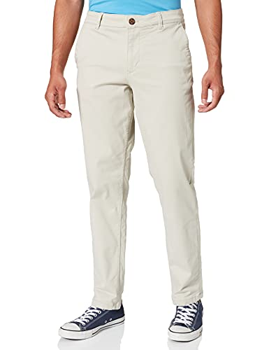 SELECTED HOMME Herren SLHSTRAIGHT-NEWPARIS Flex Pants W NOOS Anzughose, Moonstruck, 34W / 32L von SELECTED HOMME