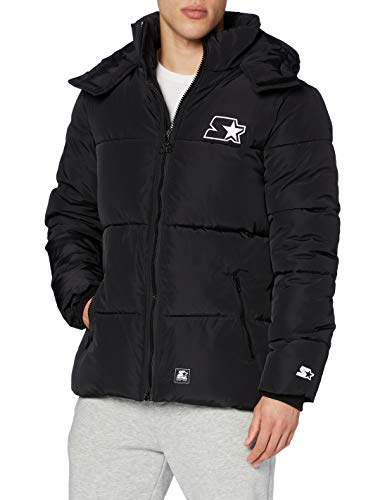 STARTER BLACK LABEL Herren Puffer Jacket Daunenmantel, XL von STARTER BLACK LABEL