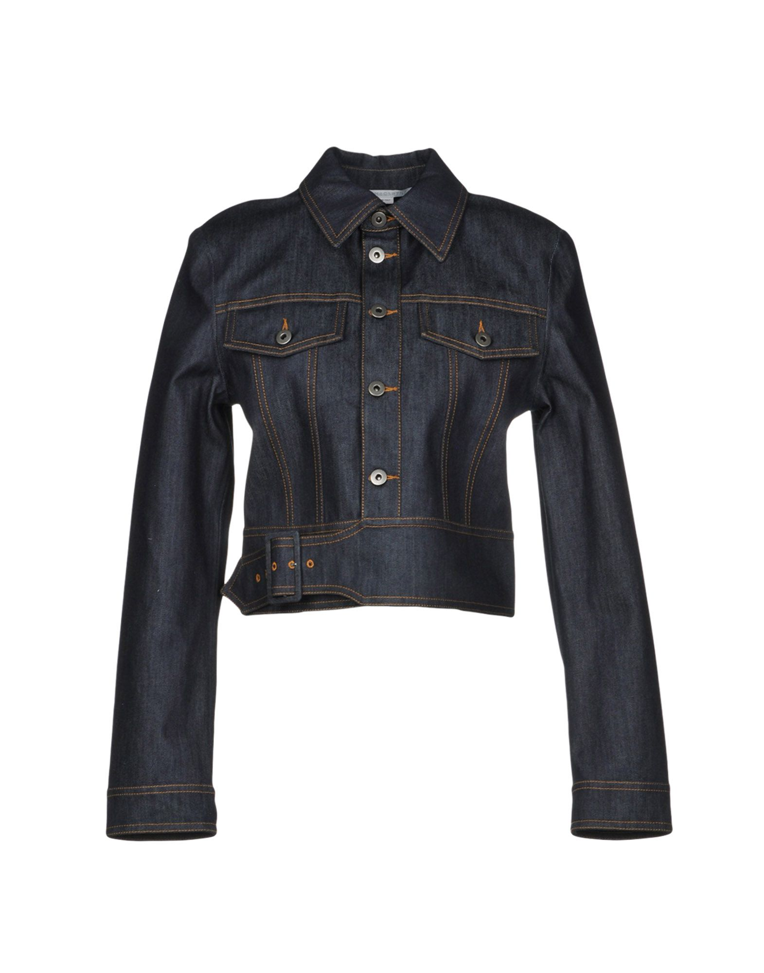 STELLA McCARTNEY Jeansjacke/-mantel Damen Blau von STELLA McCARTNEY