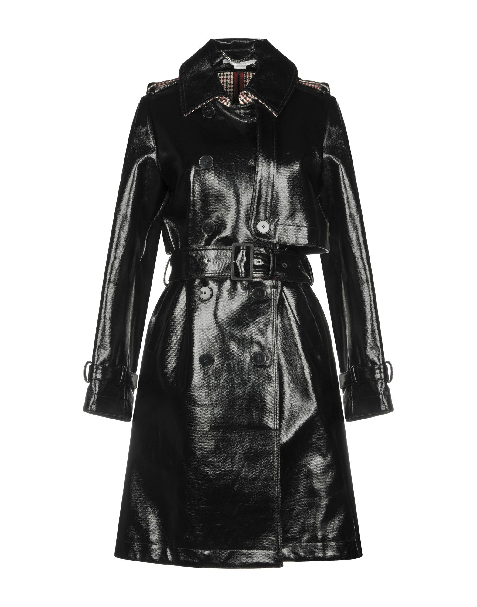 STELLA McCARTNEY Mantel Damen Schwarz von STELLA McCARTNEY