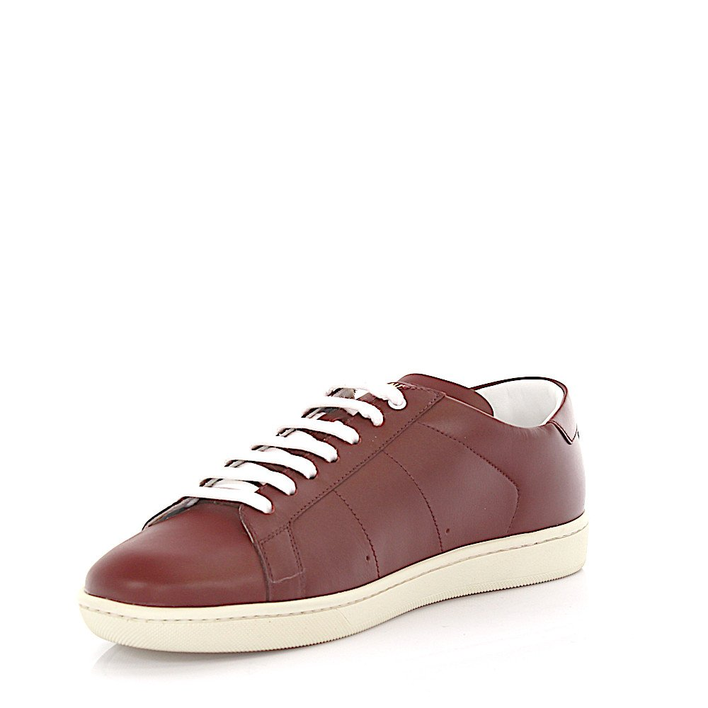 Saint Laurent Sneaker low Kalbsleder  bordeaux von Saint Laurent