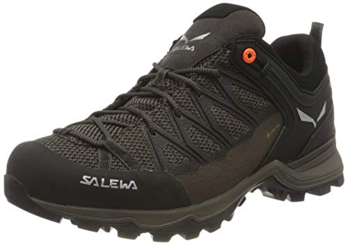Salewa Herren MS Mountain Trainer Lite Gore-TEX Trekking- & Wanderstiefel, Wallnut/Fluo Orange, 47 EU von Salewa