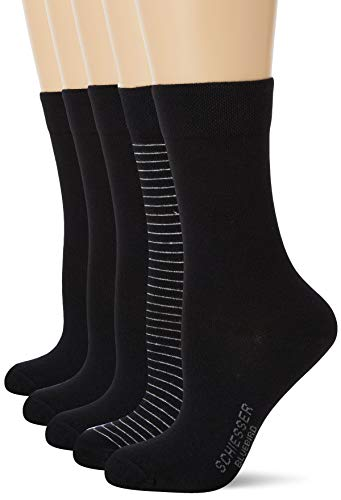 Schiesser Damensocken 5-Pack 'Cotton Fit' von Schiesser