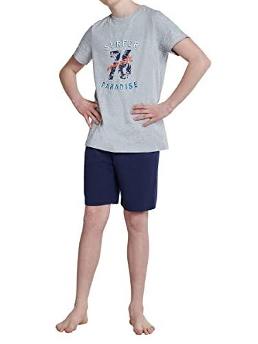 Schiesser Jungen Schlafanzug Kurz Pyjamaset