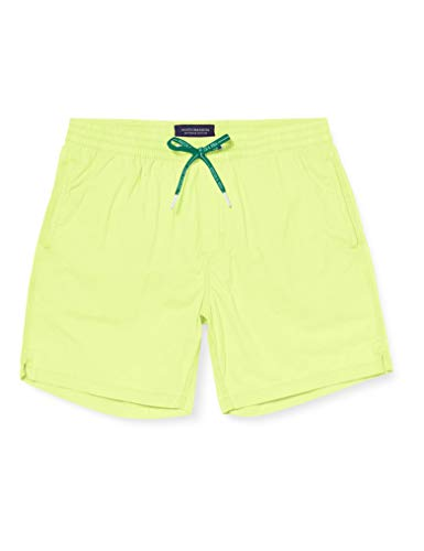 Scotch & Soda Herren Garment-Dye Badeshorts, Gelb (Highlight Yellow 3154), Small (Herstellergröße:S) von Scotch & Soda