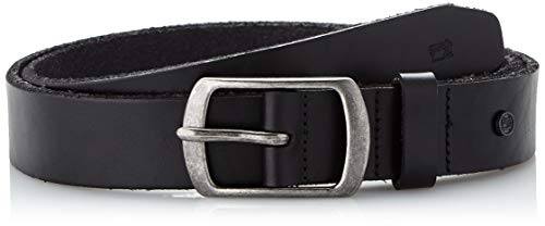 Scotch & Soda Herren Classic Leather Belt Gürtel, Schwarz (Black 90), L von Scotch & Soda