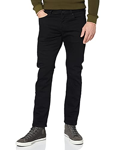 Scotch & Soda Herren Ralston Regular Slim Fit, Schwarz (Stay Black 1362), 33W/36L von Scotch & Soda