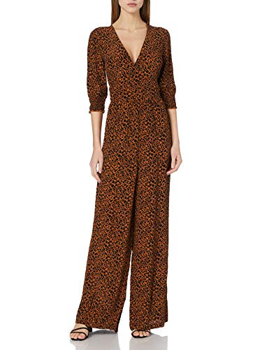 Scotch & Soda Maison Damen Printed Viscose All-in-one Overall, 0220 Combo D, XS von Scotch & Soda