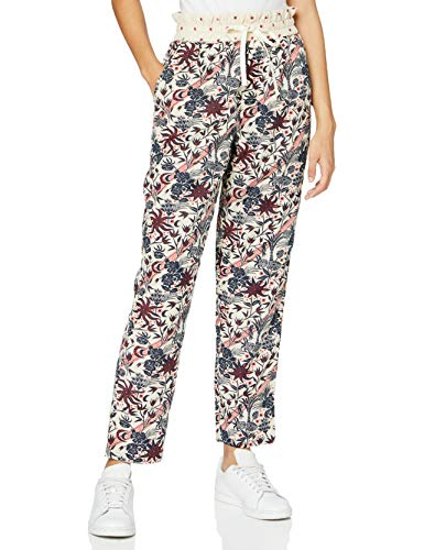 Scotch & Soda Maison Womens Viscose Mix Track Pants in Various Prints Sweatpants, Combo B-0218, M von Scotch & Soda
