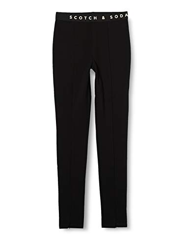 Scotch & Soda R´Belle Girls Club Nomade high Rise Sporty Skinny Pants Sweatpants, Black 0008, 4 von Scotch & Soda
