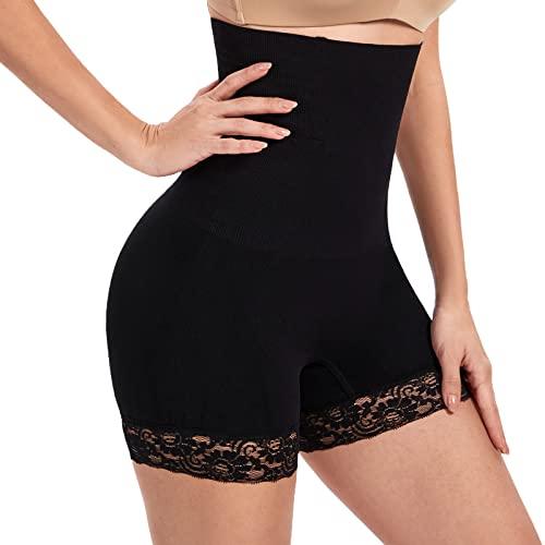 SURE YOU LIKE Damen Figurenformend Miederpants Miederhose Shapewear Bauch-Weg-Effekt Formt Sofort Body Shaper mit Bein Hohe Taille Unterw/äsche Atmungsaktive Nahtlose