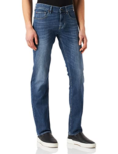 Seven for all Mankind International SAGL Herren Slimmy Slim Jeans, Blau (NY Mid Used 0MX), W30/L32 (Herstellergröße:30) von 7 For All Mankind