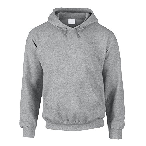 Hoodie - Kapuzenpullover - Sweater - Kapuzenpulli - Pullover - Pulli - Sweat - Hoodies for men - von SHIRT DEPARTMENT, grau, L von Shirtdepartment