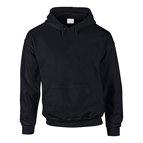 Hoodie - Kapuzenpullover - Sweater - Kapuzenpulli - Pullover - Pulli - Sweat - Hoodies for men - von SHIRT DEPARTMENT, schwarz, L von Shirtdepartment