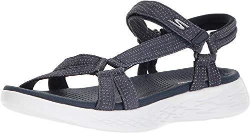 Sandalen von SKECHERS in Blau für Damen