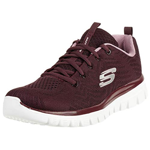 0 Newsmaker Eu Damen Flex 2 SneakerRotburgundy35 Skechers