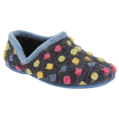 Sleepers Donna Damen Hausschuhe / Pantoffeln (41 EUR) (Fuchsia/Bunt) lIL0E68
