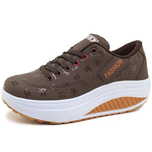 Fashion Stiefel Damen Schuhe Winter Warm gefuttert 5051 Beige 37
