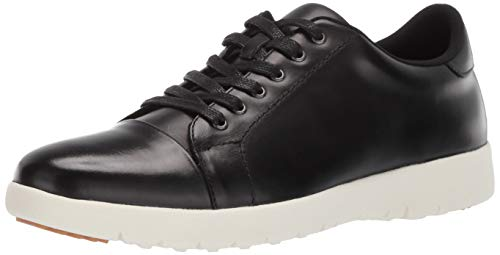 Stacy Adams Herren Hawkins Cap-Toe Lace-Up Sneaker Turnschuh, schwarz, 45.5 EU von Stacy Adams