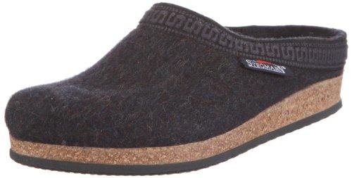 Stegmann 108, Unisex-Erwachsene Pantoffeln, Grau (graphit 8801), 42 EU (8 Erwachsene UK)