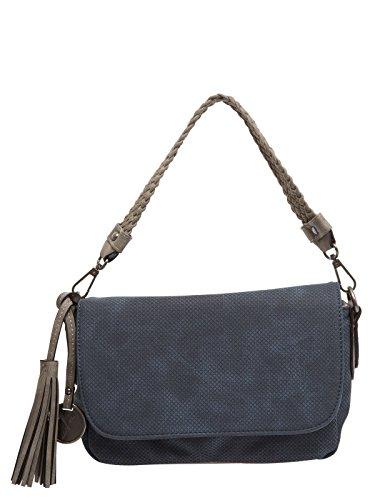 SURI FREY Phoeby Crossover Bag Umhängetasche Tasche Blue Blau Silber Neu