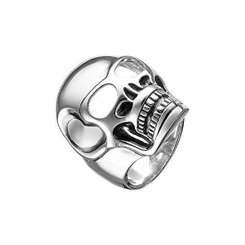 "Thomas Sabo Herren-Ring Rebel at heart ""Totenkopf"" 925 Silber Gr. 56 (17.8) - TR1704-001-12-56 von THOMAS SABO"
