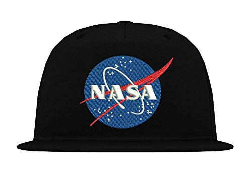 TRVPPY 5 Panel Kinder Junior Cap Modell NASA, Schwarz, b10b von TRVPPY