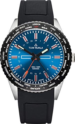 Blau Herren In Tuw Von Uhren Ruhla Für kZiuPX